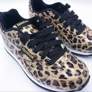 Reebok Cheetah Print Sneakers Size 11 Toddler